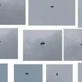 Фотография НЛО над Лондоном