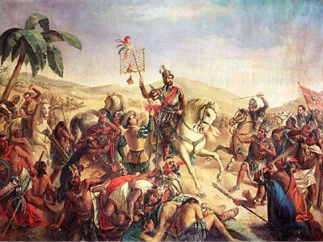 a history of the spanish conquest of tje aztec mexico led by hernan cortes Yet remarkably little is written about the conquest in major world history textbooks although the conquest of mexico is often which led to the rebellion.