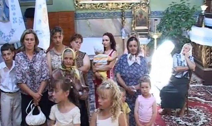 Призрак в церкви