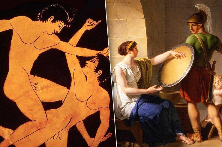 Греческая любовь и секс истории участников