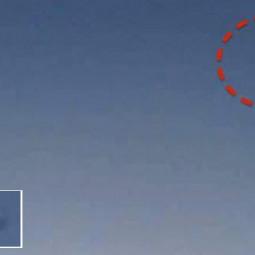 Дискообразный НЛО пролетел Австралией