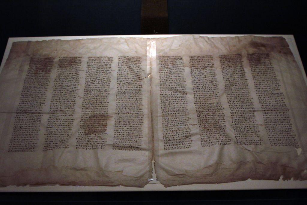 Carbon dating codex sinaiticus