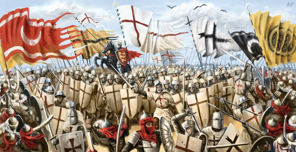 the first crusade battles of vengeance The battle between saladin and richard marked the high point of the crusades, the first major clash between islam and western christendom, which lasted more than three centuries.