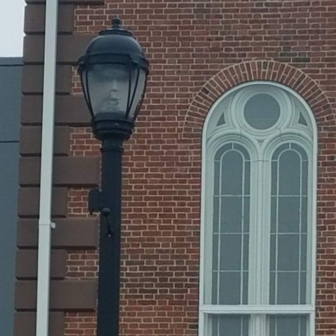 Призрак в фонаре