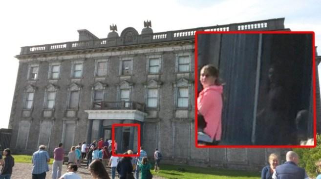 Привидение у ирландского особняка
