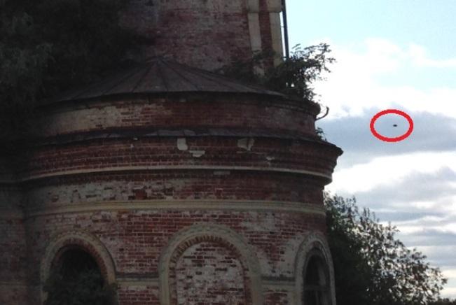 НЛО в Кириловской области