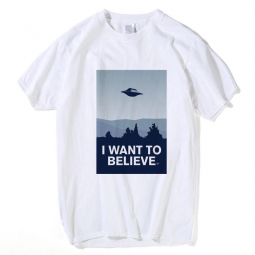 Футболка I want to believe