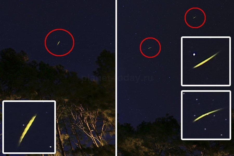 Нло может быть похоже на звезды фото