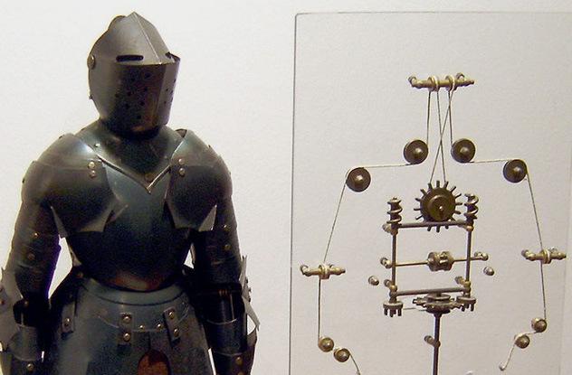 Десять роботов из прошлых веков