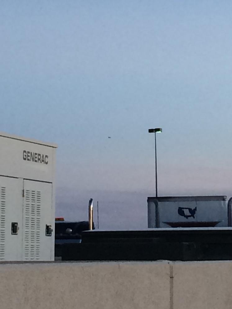 Фотография НЛО в Нью-Мехико
