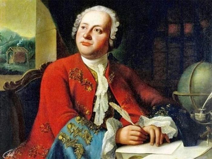М. В. Ломоносов-русский ученый.