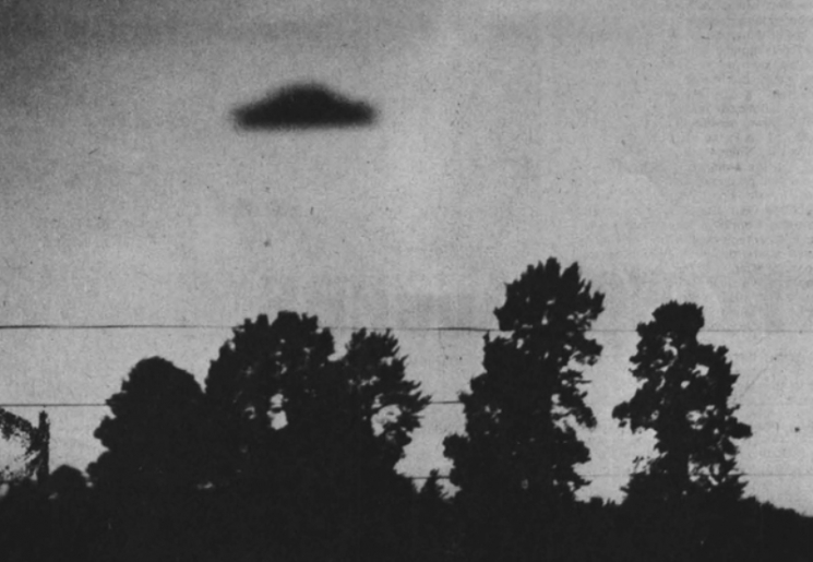 Фото НЛО 1965 год