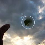 НЛО в виде куба над Техасом 2015 года