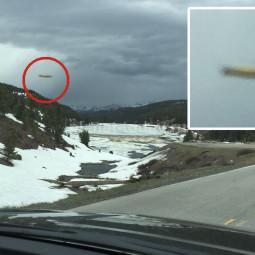 Фотография НЛО в Колорадо