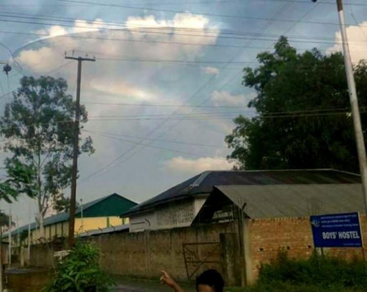 Фотография НЛО в Индии
