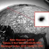 Фото НЛО на Марсе 2015