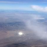 Фото НЛО над Зоной 51