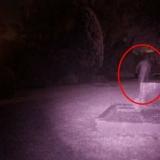 Фото привидения на кладбище