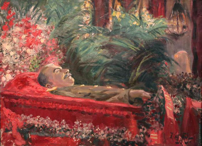 Картинки по запросу похороны сталина картина
