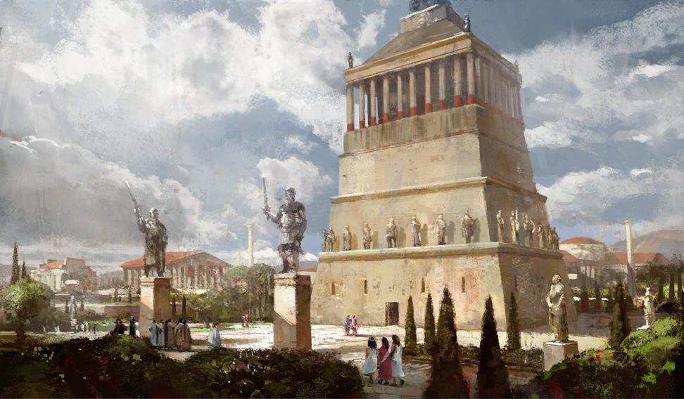 5 е чудо света надгробие мавсола карийского правителя построенное iv Лампадка из лезниковского гранита резная Красный Яр