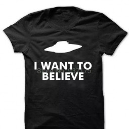 Футболка I want to believe (2 цвета)