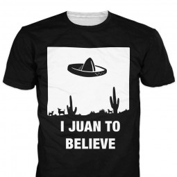 Футболка I juan to believe