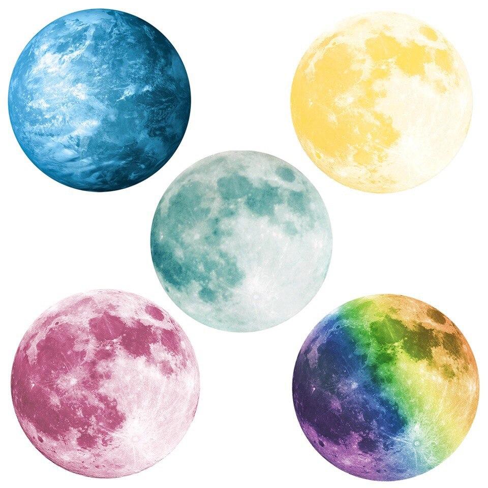 Картинки луны цветной