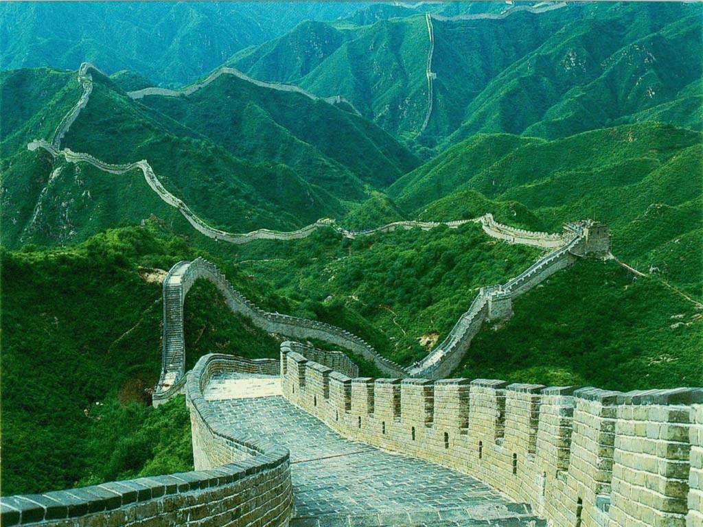 Великая Китайская стена. Сравнение фотографий