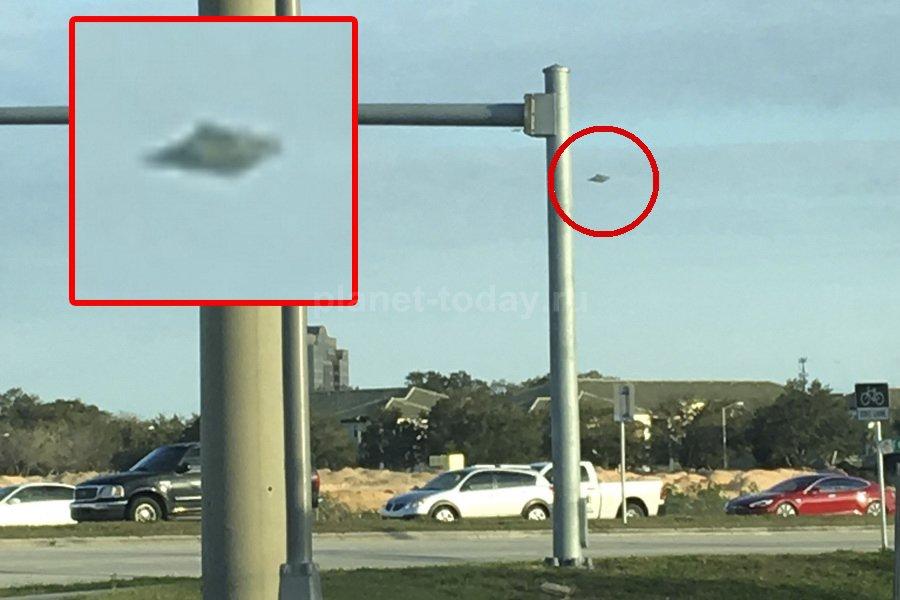 Ромбовидный НЛО во Флориде