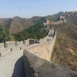НЛО над Великой Китайской Стеной