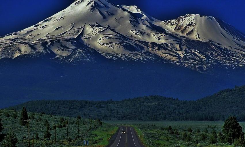 Гора шаста картинки