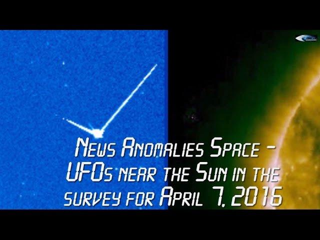 НЛО у Солнца в обзоре за 7 апреля 2016