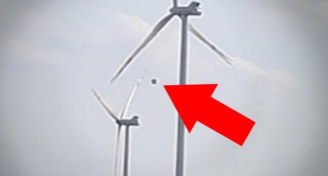 Видео НЛО заснят над ветряной электростанцией в Польше