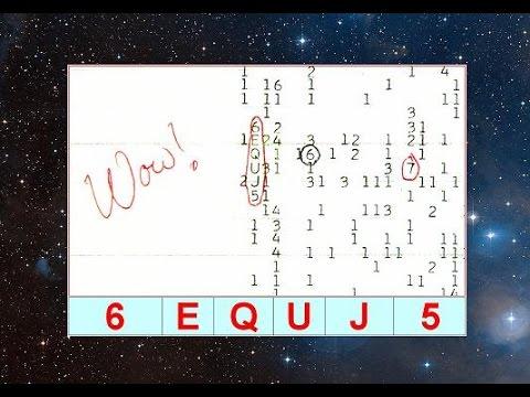 Внеземной Сигнал «WOW», расшифровка