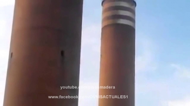 Видео НЛО над атомной электростанцией в Мексике