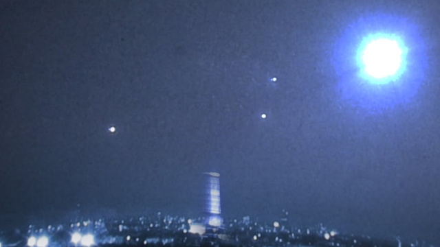 Видео НЛО над Парижем 2014 год