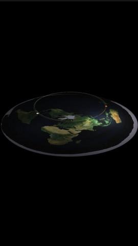 Наша Земля - Плоская!  Вот факты: Солнце, Луна, Звезды - это проекции