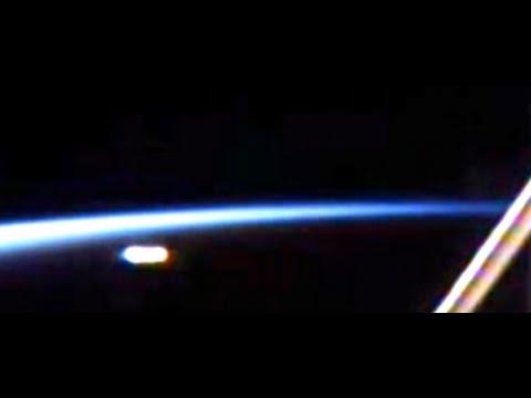 Видео НЛО возле МКС