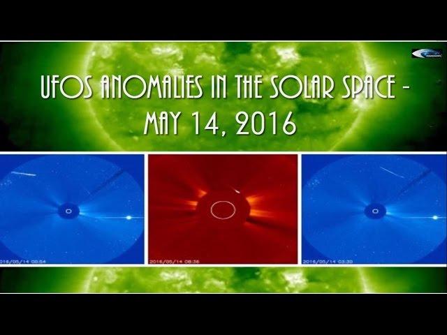 НЛО у Солнца за 14 мая 2016