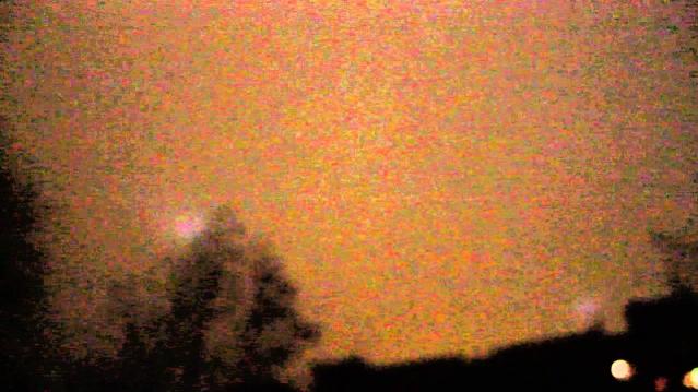 Виде НЛО над Челябинском