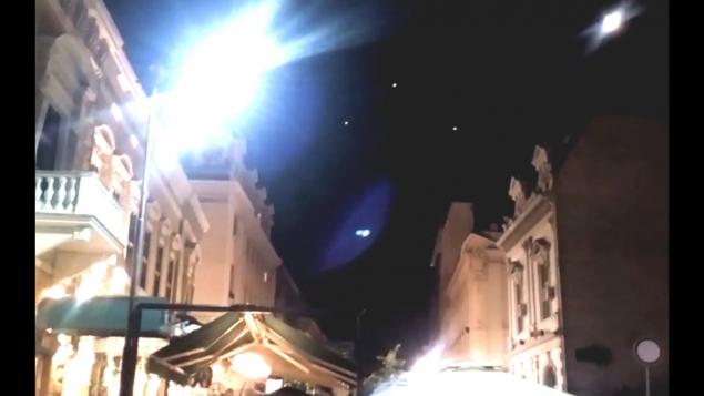 20 НЛО над Белградом видео