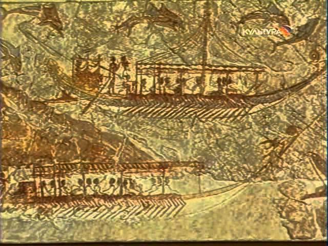 Наследие древних цивилизаций. 1. Санторин и Тира