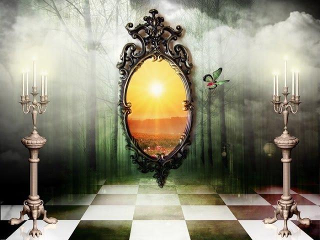 Таинственная магия зеркал. Земля. Территория загадок