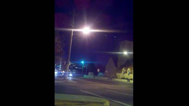 Треугольный НЛО в Альбукерке
