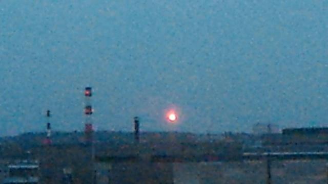 Падение НЛО у Петрозаводска