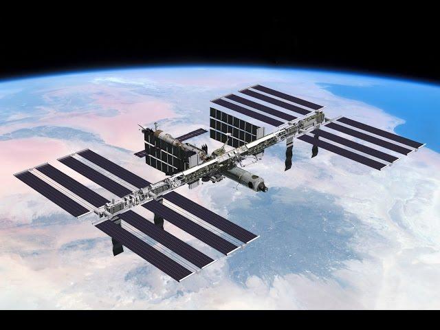 Космическая станция. Чудеса инженерии