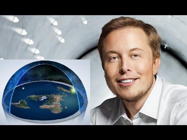 """Плоская земля. Элон Маск о полётах в """"Космос"""""""