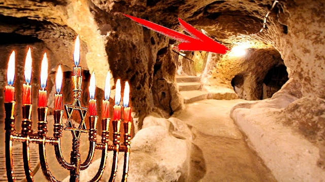 В лабиринте под Иерусалимом был найден подземный город! Тайна подземелий Иерусалима!