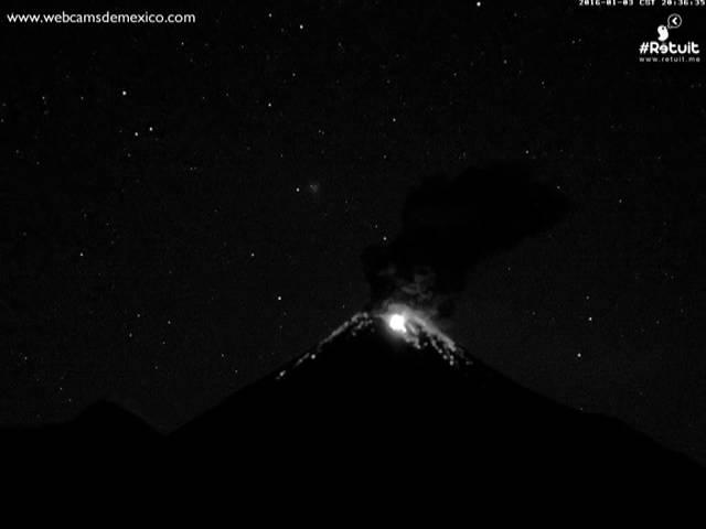НЛО вызвал извержение вулкана