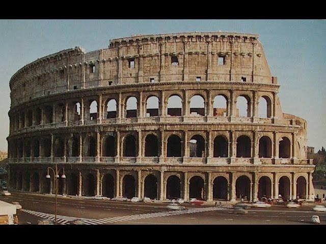 Цивилизация древнего Рима. Градостроительство и архитектура.